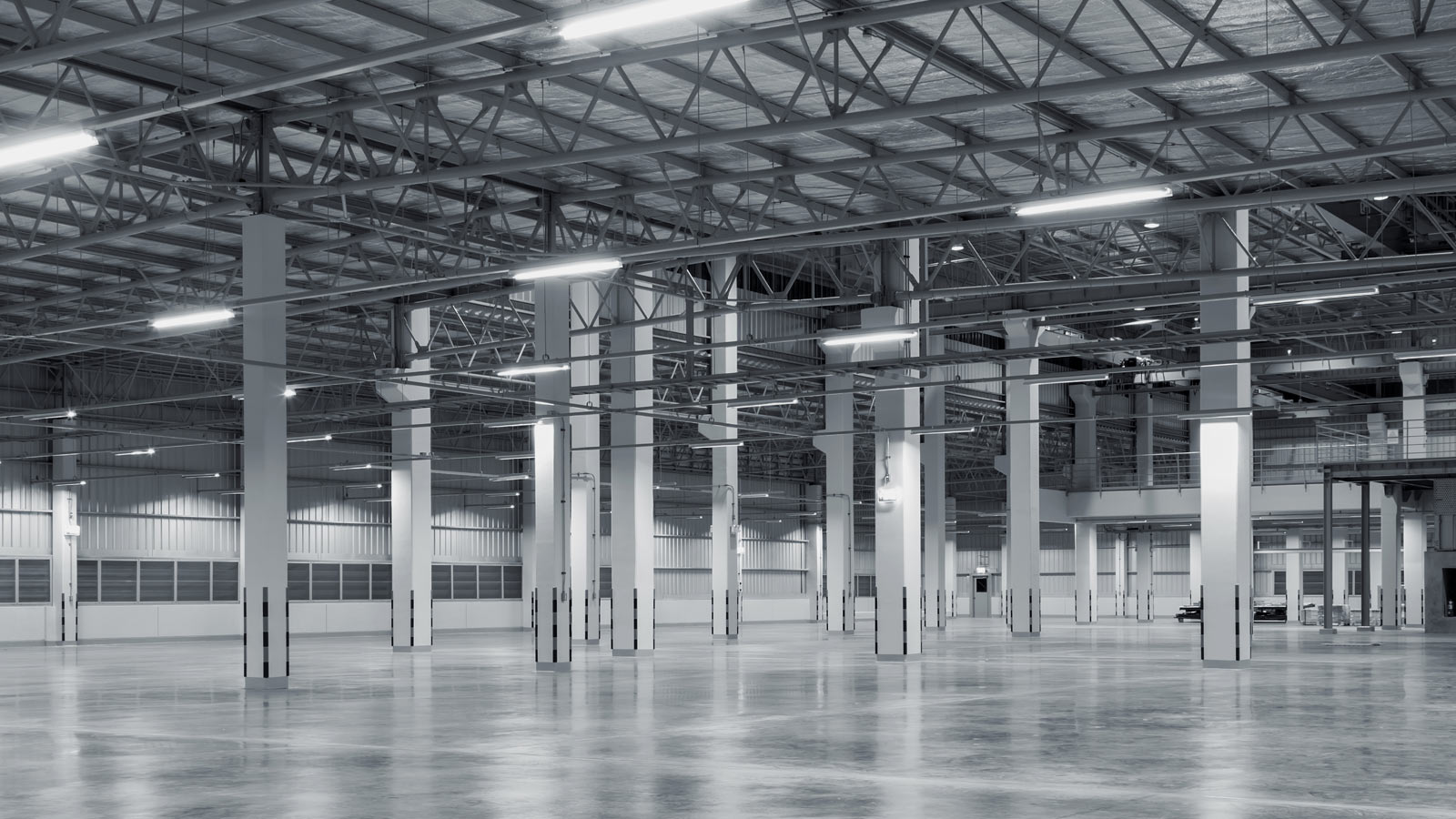 Industrial warehouse building is an example of commercial property investments